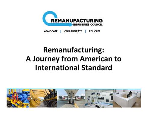 Remanufacturing Standards